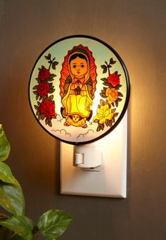 Our Lady Of Guadalupe Night Light