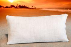 Burlap pillows. Natural burlap pillow. Burlap by BuyAPillow, $18.00