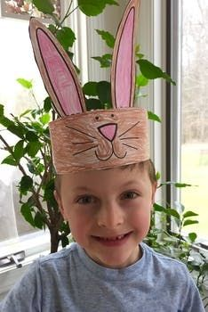 Printable Bunny Ears Hat