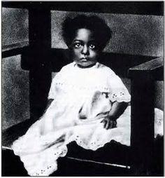 Josephine Baker as a child
