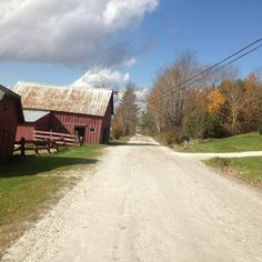 Country road, take me home...Vt.