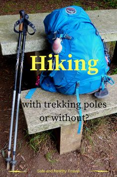 Hiking with trekking poles.. Is that a yea or a nay for you? For me on the long hiking trips it is a definitely YEA!! I do love the pros... read why!