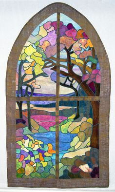 simple stained glass quilts susan purney mark