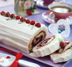 Bring on the berries, the whipped cream, the tender, and twirled cake. Mary Engelbreit's Jolly Jelly Roll with Lime Cream recipe is an elegant and fancy dish that's perfect for sit-down dinners.