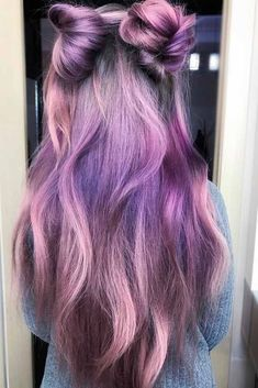Purple and black hair is not something unusual on its own. What makes it unusual is you, because you are unique. Always remember that and follow our tips!