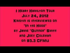 "Interview on ""In the Neighbourhood"" with Gunner on 93.3 CFMU. July 24, 2012."