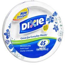 Dixie Plates $1.40 at Walgreens, Starting 10/14!