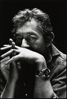 Nigel Parry: Unpublished portraits of Gainsbourg