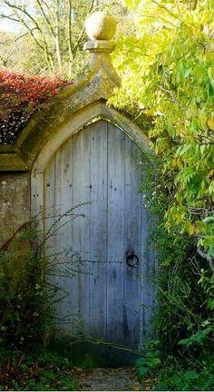 Old garden door
