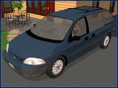 Fresh-Prince Creations - Sims 2 - 2001 Ford Windstar