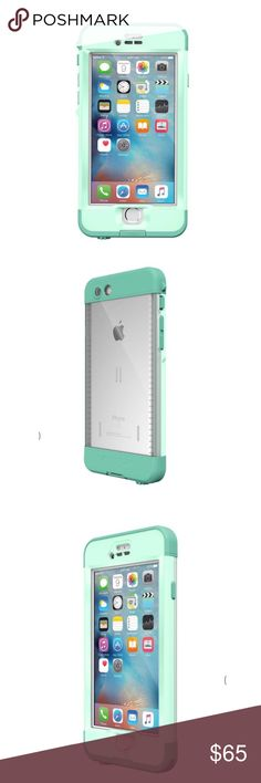iPhone 6 Lifeproof case iPhone 6 Lifeproof case- Undertow Aqua, slightly used but in great condition! Perfect protection for those who drop their phone! LifeProof Accessories Phone Cases