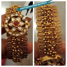 50gram kasu gold bangle #GoldJewelleryBangles #AnticGoldJewellery #GoldJewelleryOutfit