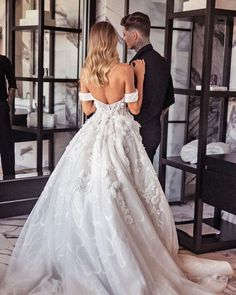 Unique & Hot: 27 Sexy Wedding Dresses Ideas ❤ sexy wedding dresses ideas ball gown backless off the shoulderpallascouture #weddingforward #wedding #bride #weddingoutfit #bridaloutfit #weddinggown