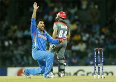 Yuvraj helps scratchy India beat Afghanistan by 23 runs in T20 WC opener