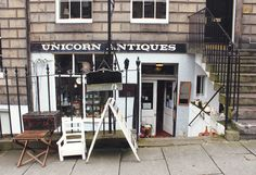 One of the best antique places you'll ever find... so much quirky stuff! Unicorn Antiques | Edinburgh