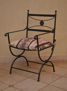 Wrought Iron Special Design Chair / Wrought Iron Special Design Chair- Ferforje Özel Tasarım Sandalye / Wrought Iron Special Design Chair WhatsApp Support: 0536 920 4926 – 0532 643 3682 E-Mail: - Iron Furniture, Steel Furniture, Furniture Design, Wrought Iron Chairs, Wrought Iron Decor, Rustic Chair, Iron Table, Steel House, Chair Design