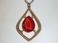 Vintage SARAH COVENTRY Scarlet Tears Red by labaublesandbags, $24.00