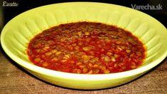 Grécka šošovicová polievka (fotorecept) Chili, Soup, Chile, Chilis, Soups, Chowder