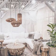 Inspi du jour bonjour ✨ #deco #homedecor #inspi #cozy #rotin #living #perfect #pinterest #artyme