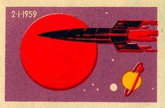 vintage soviet space art - Google Search