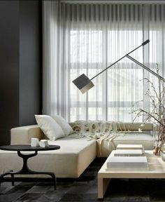 transparent gardinen ideen moderne vorhänge
