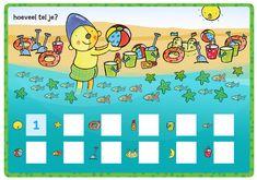 Rompompom | Magnetische rekendoos | Werkblad 'hoeveel tel je?' | Hoeveelheden | Zwijsen Lets Play A Game, Crafts For Kids, Diy Crafts, Strand, Homeschool, Camping, Projects, Note Cards, Crafts For Children