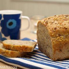 » Det aller beste grovbrødet – «Prosjekt grovbrød» Iftar, Banana Bread, Food And Drink, Desserts, Recipes, Mad, Drinks, Breads, Drinking