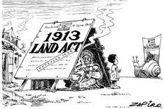 Zapiro: 1913 Land Act: How far has SA come? - Mail & Guardian