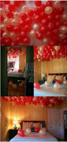 Ideas birthday surprise boyfriend at home for 2019 Birthday Room Decorations, Valentines Day Decorations, Valentines Diy, Valentine Day Gifts, Balloon Decorations, Valentines Surprise, Birthday Morning Surprise, Birthday Celebration, Birthday Wishes