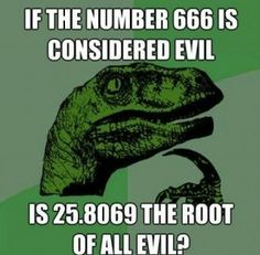 very good question....