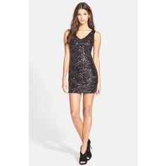 Women's ASTR Sequin Body-Con Dress