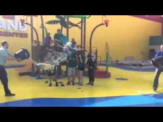 LEGOLAND Discovery Center DFW takes the ALS Ice Bucket Chal
