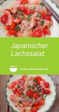 Japanischer Lachssalat