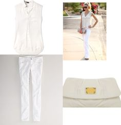 Rock all-white this summer! http://www.zuuzstyle.com/wearing-all-white/