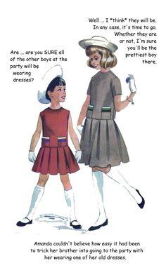 Humiliation Captions, Tg Captions, Perfect Boy, My Sister, I Dress, Sisters, Husband, Cartoon, Disney Princess