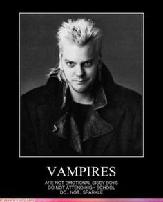 Real vampires don't sparkle...LMAO!!!