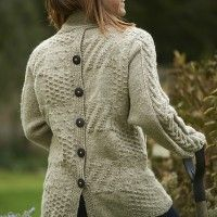 Sampler jacket knitting pattern