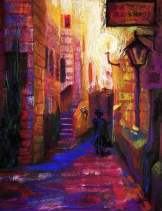 Shabbat Shalom Painting