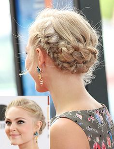 The Humidity-Proof Hairstyles You Need to Master This Fall | StyleCaster | Braided Updo