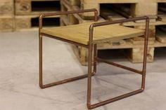 Como fazer uma mesinha com canos de cobre