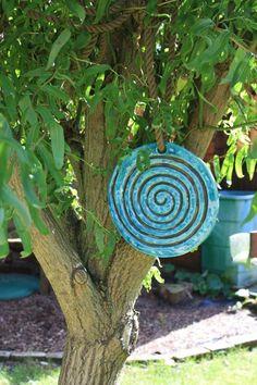 Gartendekoration - Baumscheibe Keramik - ein Designerstück von Konform-art bei DaWanda