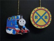 (2) THOMAS THE TRAIN PERCY CEILING FAN PULL PULLS