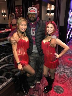 Legendary Rapper from the Wu Tang Clan, Ghostface Killah, visits the D Casino Hotel Las Vegas