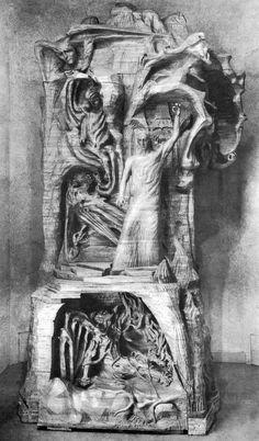 Sculpture by Rudolf Steiner 0016