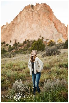 2ca47158dd Garden of the Gods in Colorado Springs  I love the desert field in front of