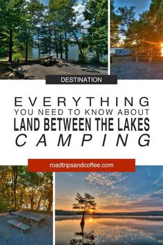 Seen Camping Kanufahren Kentucky Attractions, Kentucky Camping, Land Between The Lakes, Rv Parks And Campgrounds, Lake Camping, Twin Lakes, Seen, Vacation Places, Vacations