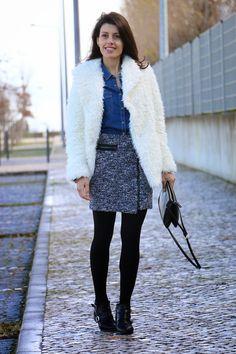 I love Fita Métrica: Fluffy Coat