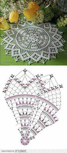 Breathtaking Crochet So You Can Comprehend Patterns Ideas. Stupefying Crochet So You Can Comprehend Patterns Ideas. Crochet Doily Diagram, Crochet Chart, Thread Crochet, Filet Crochet, Crochet Motif, Irish Crochet, Crochet Dollies, Crochet Flowers, Crochet Dreamcatcher