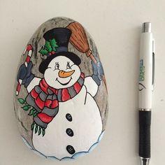 Bildergebnis für maling på sten jul