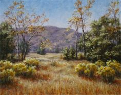 """Golden Fields,"" original oil painting, 16x20, Available at Rich Timmons Studio & Gallery, 3795gallery.com"